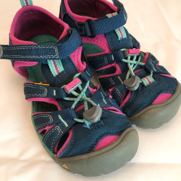 Keen Other - Keen Sandals Water Shoes Boy Girl Blue pink 12